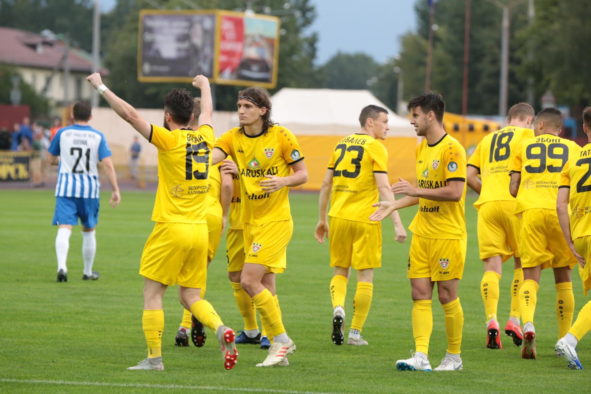 ФК Шахтер Солигорск   Match   Шахтер Солигорск - Эсбьерг 2:0